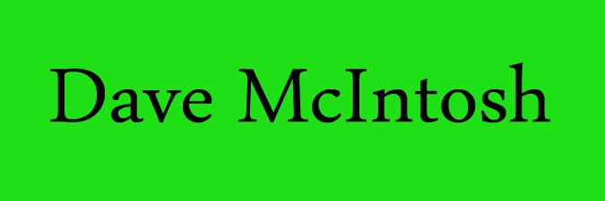 Dave McIntosh