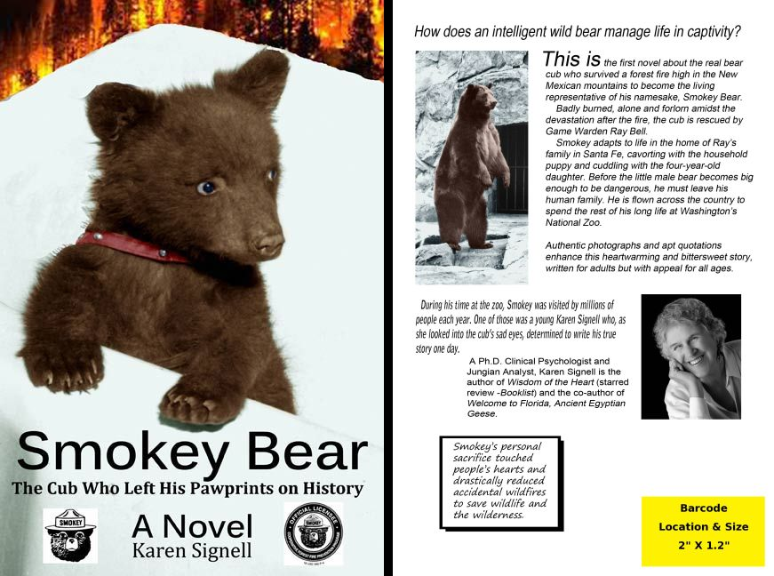 SmokeyBear-BookCovers
